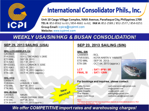 ICPI EXPORT CONSOL USA-SIN WEEK 39 2013