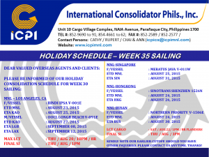 HOLIDAY SCHEDULE - NINOY AQUINO DAY